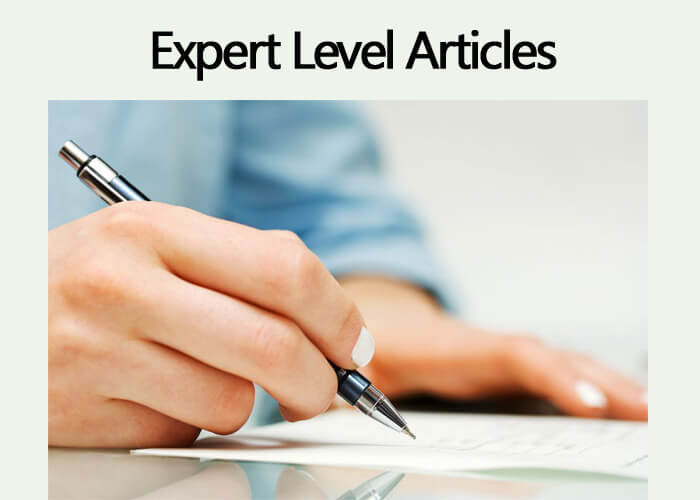 EXPERT Level Articles – $3 /100 Words